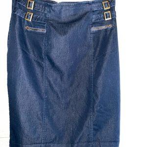 Great denim colored skirt from Worthington!